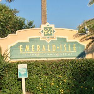 Emerald Isle Sign