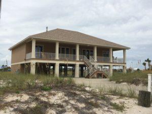 Gulf Front Beach house